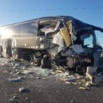 Una pelea entre el conductor de un autobús y una pasajera provoca un accidente con 15 víctimas en China.