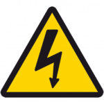 Señal riesgo eléctrico
