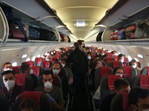 Vuelo IB3838 de Iberia Express entre Madrid y Gran Canaria