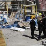 Mueren dos trabajadores en un accidente laboral.